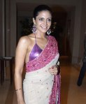 Mandira-Bedi-Purple-Saree